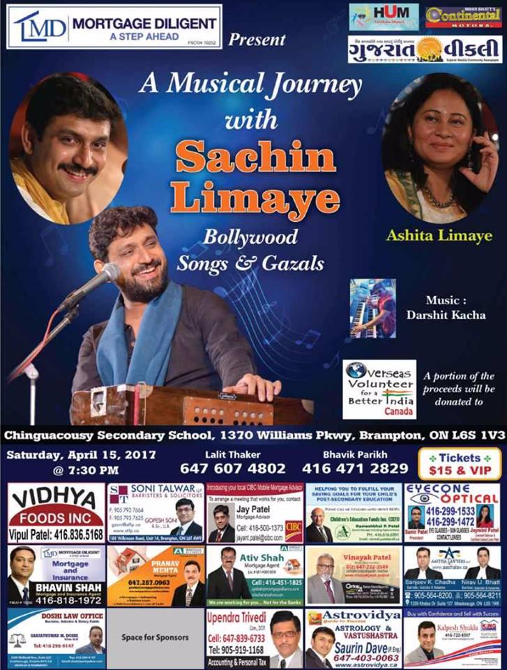 A Musical Jourany with Sachin Limaya